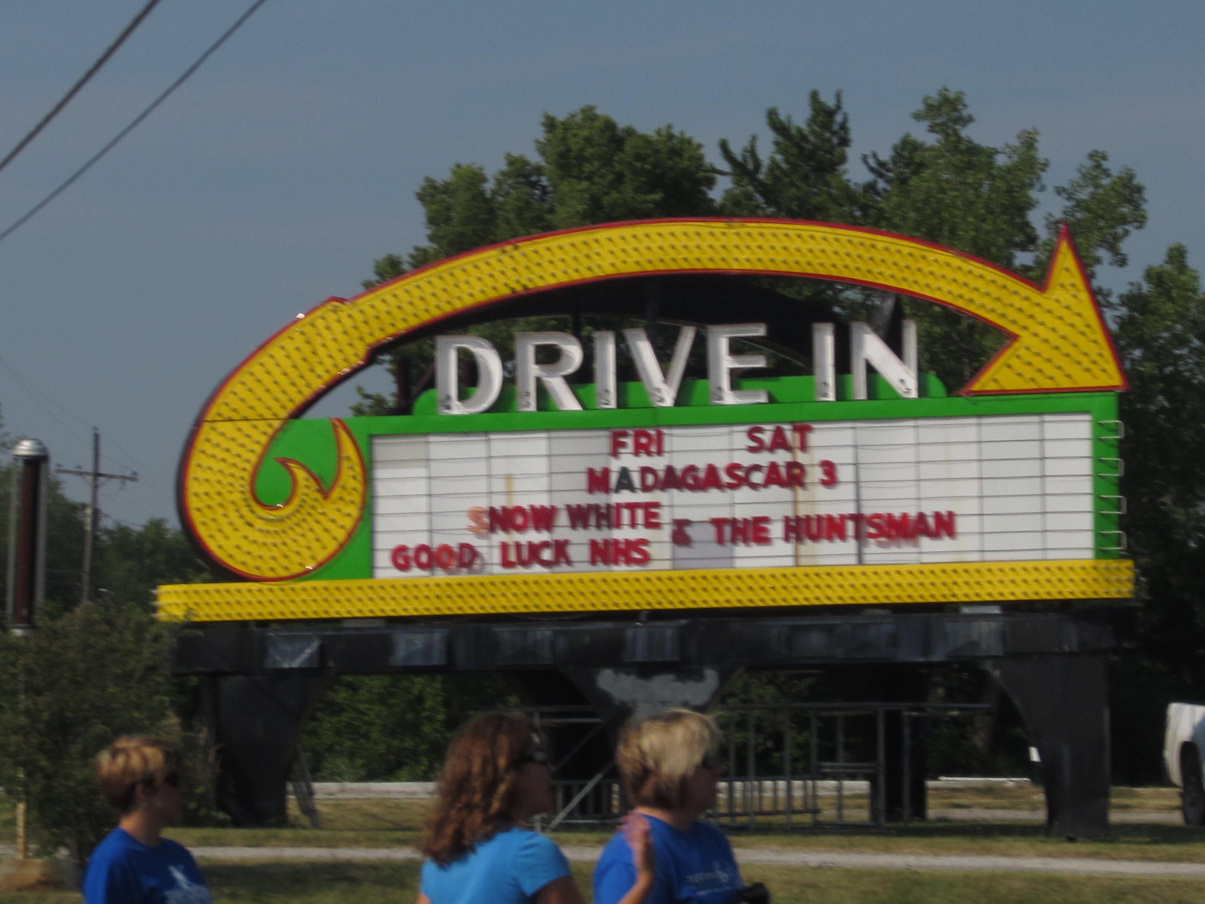 best drive in movie theater orange county