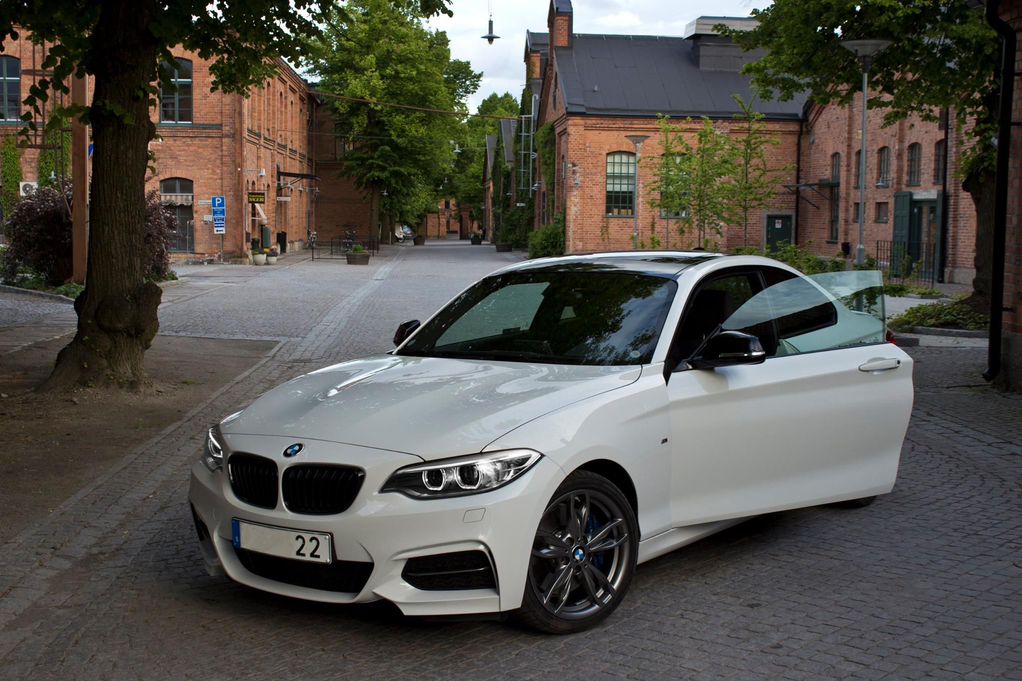 Alp White m235i slightly modded. Page 2 Bmw white, Bmw