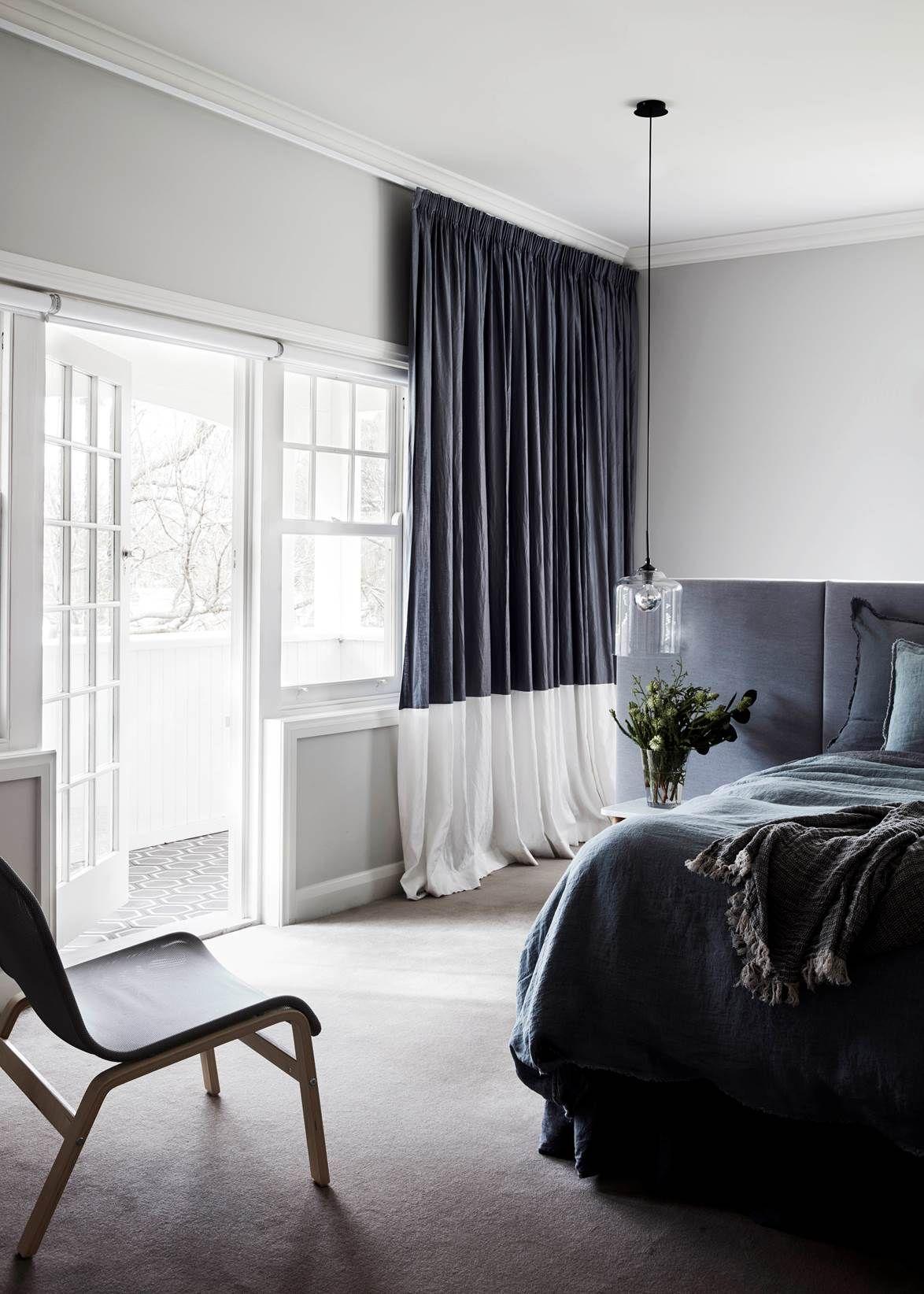 10 Brilliant Bedroom Design Ideas Gray Bedroom Home Curtains Gray bedroom curtains ideas