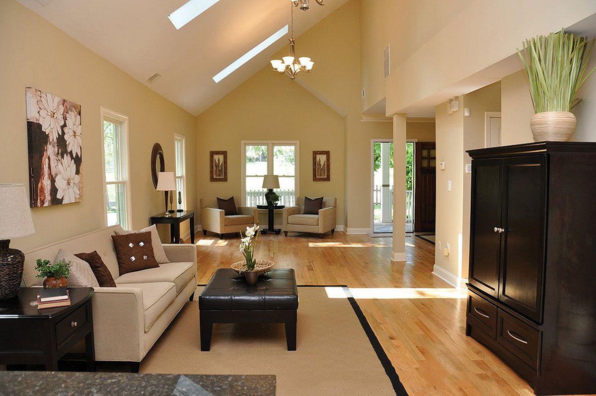 Atlanta Home Staging Long Narrow Living Room Narrow Living Room