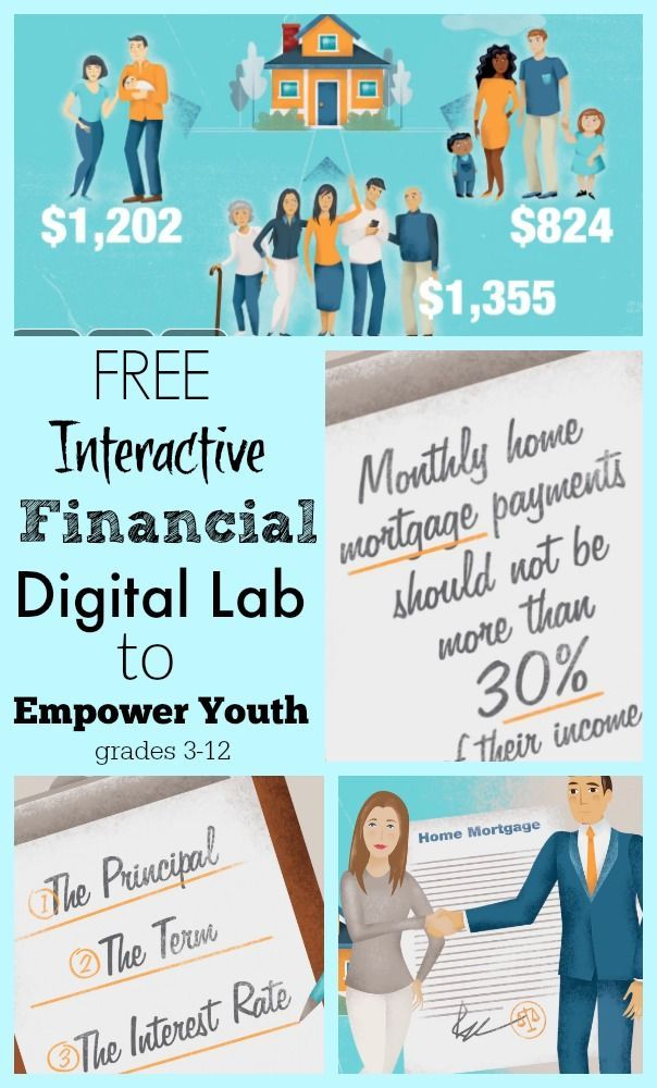 Interactive Financial Digital Lab to Empower Youth | Fun activities ...