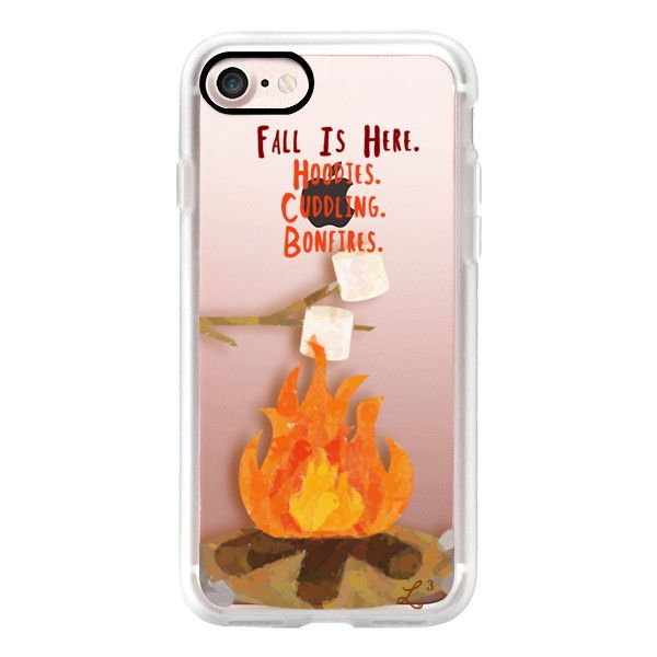 Fall Collection - Hoodies. Cuddling. Bonfires. - iPhone 7 Case, iPhone... ($50) ❤ liked on Polyvore featuring accessories, tech accessories, iphone case, apple iphone case, iphone cases and iphone cover case