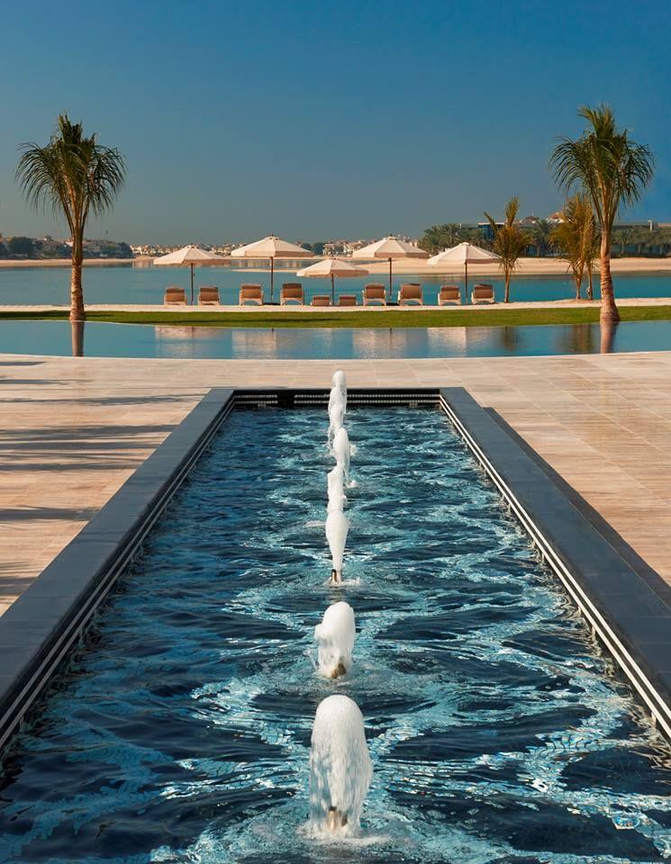 Clear Blue Skies At Waldorf Astoria Dubai Palm Jumeirah Hotels