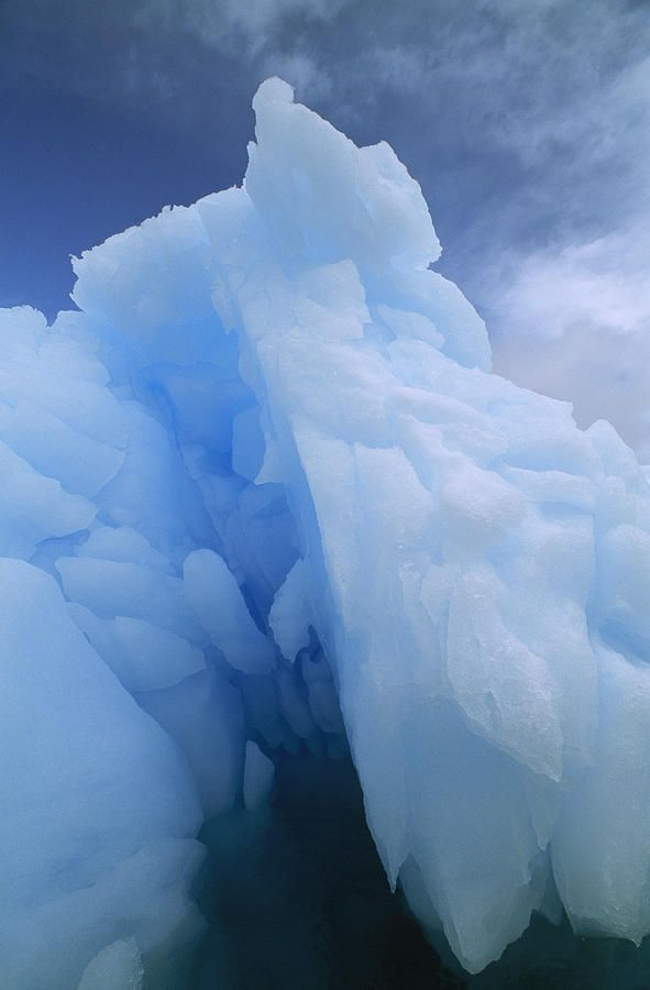 A Close View Of An Iceberg. #blueice #glacier