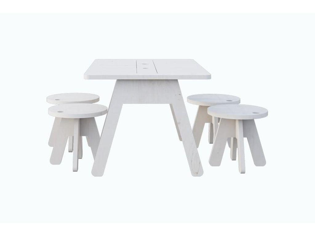 Kutikai Peekaboo Kids Table And 4 Chair Set With Images Modern Kids Bedroom Furniture Modern Kids Furniture Peekaboo Kids