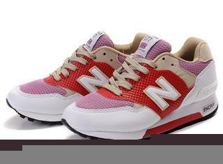 New Balance CM577TWR Thistle White Red Grey women Shoes