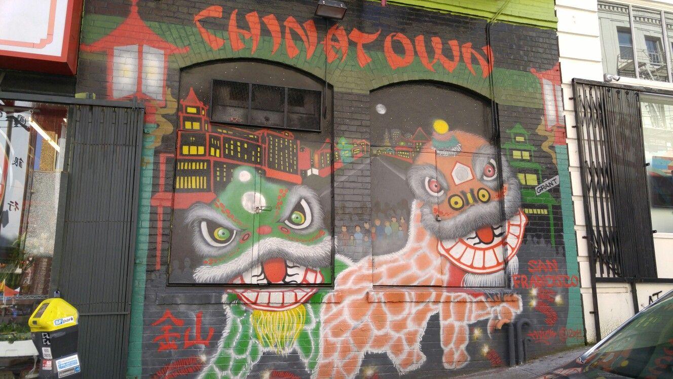 Sacramento street in san francisco california chinatown street