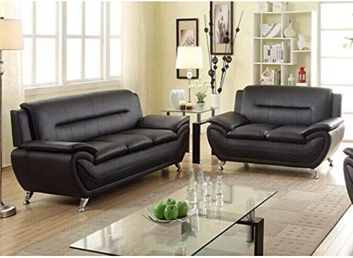 the perfect us furnishing express alice black faux leather