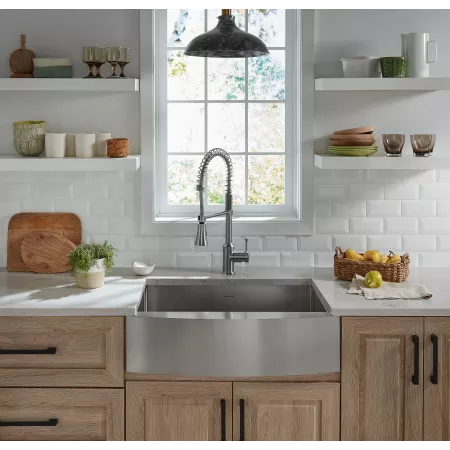 American Standard 18sb 9302200a Build Com In 2020 Stainless Steel Farmhouse Sink Rustic Kitchen Cabinets Farmhouse Sink Kitchen
