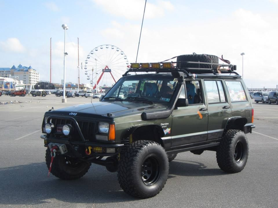 This is my sons Jeep at OC Maryland Jeep week 2014