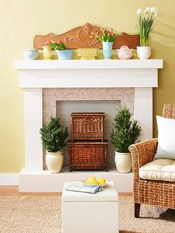 Fireplace Storage 4 ideas for fireplace decorating | decorating, storage and room