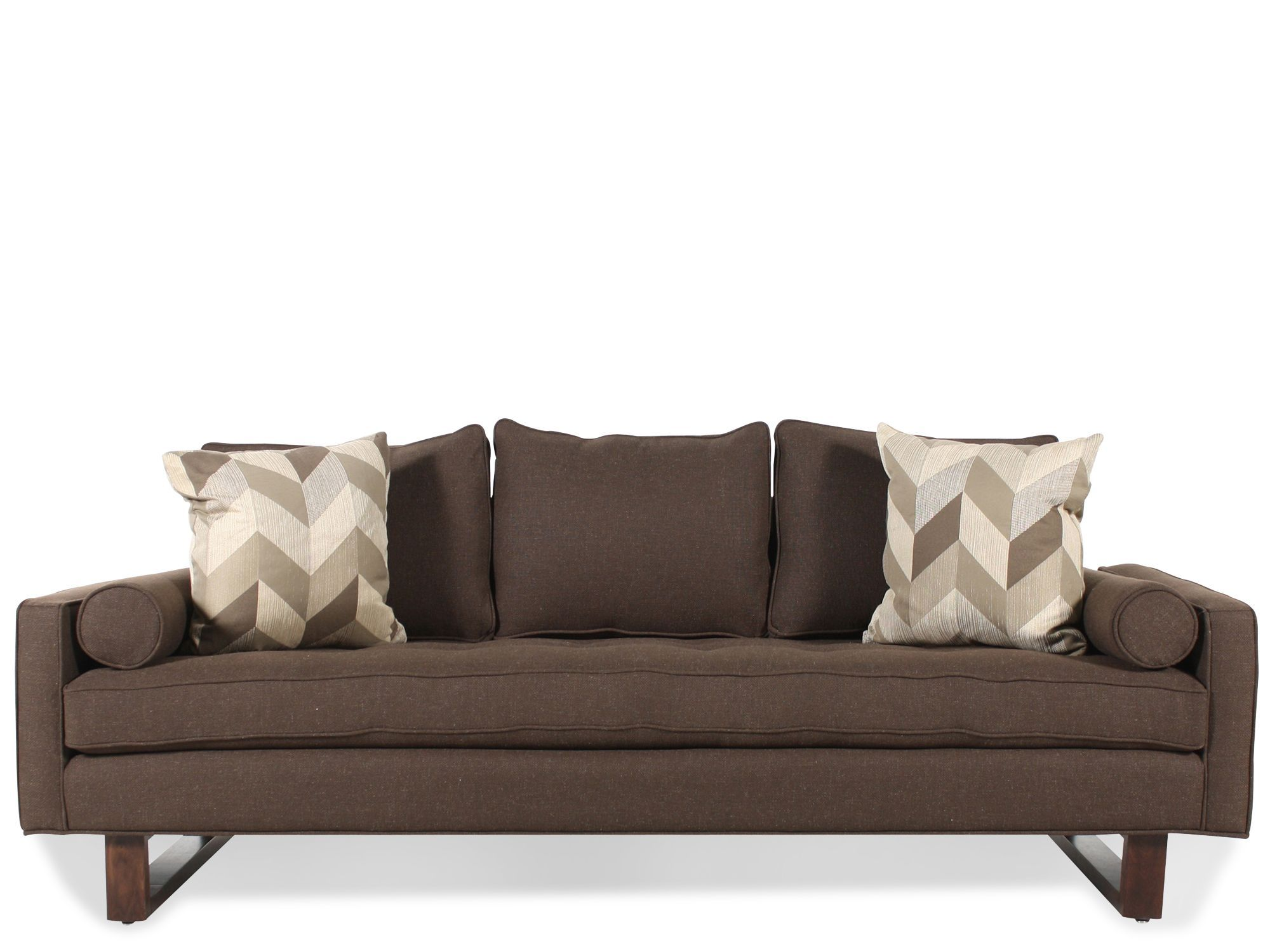 Jonathan Louis Bennett Sofa To Match My New Chair In Gray Fabric Pattern  Flannel Color