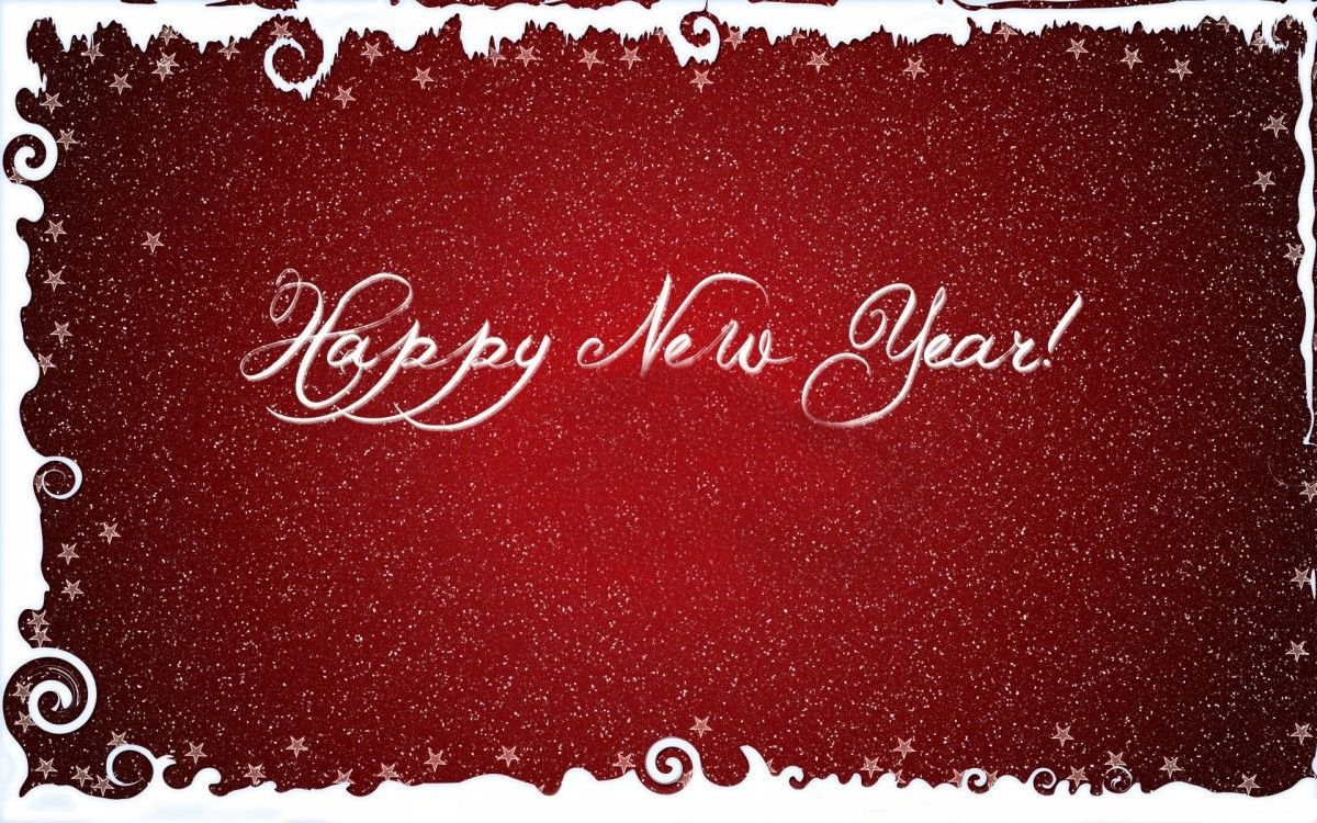 Happy New Year Greeting Cards Hd Wallpaper Fashion Pinterest