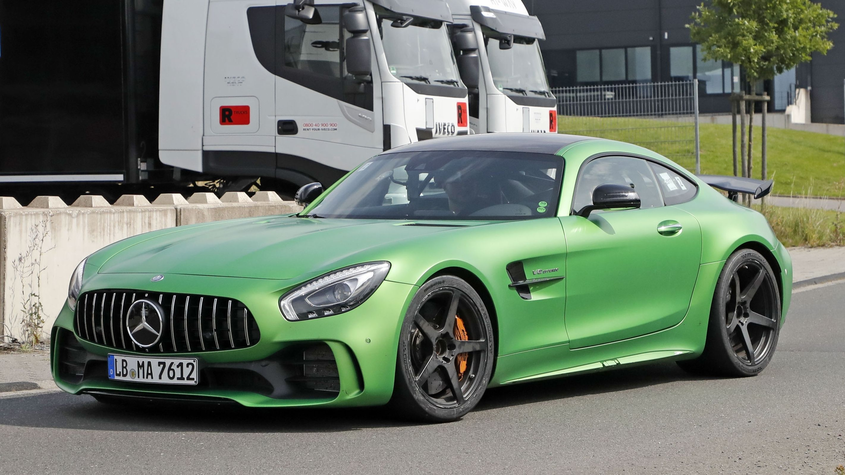 Now That Mercedes Has Launched The Amg Gt 4 Door The Amg Gt Black