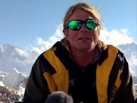 Scott Fischer interview on Everest, days before his death.