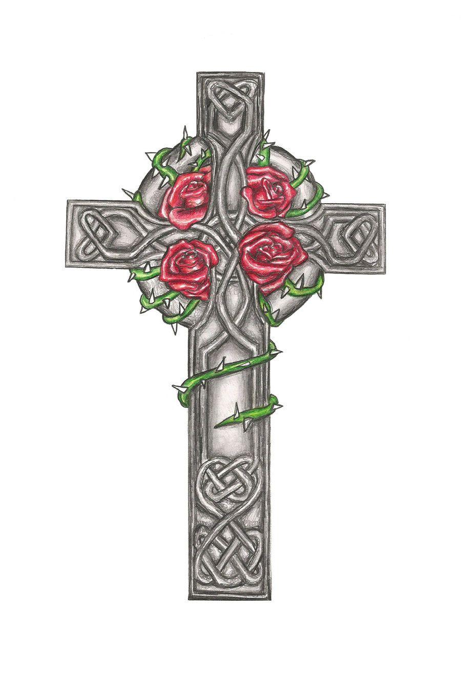 Pin on Celtic Cross Tats