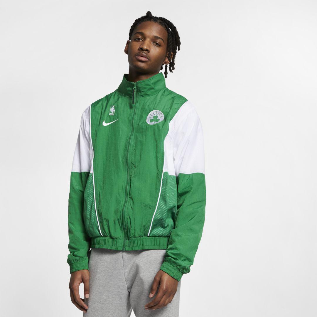 Boston Celtics Nike Courtside Men's NBA Tracksuit Jacket