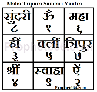 Maha Tripura Sundari Yantra | Dada | Sanskrit mantra, Hindu