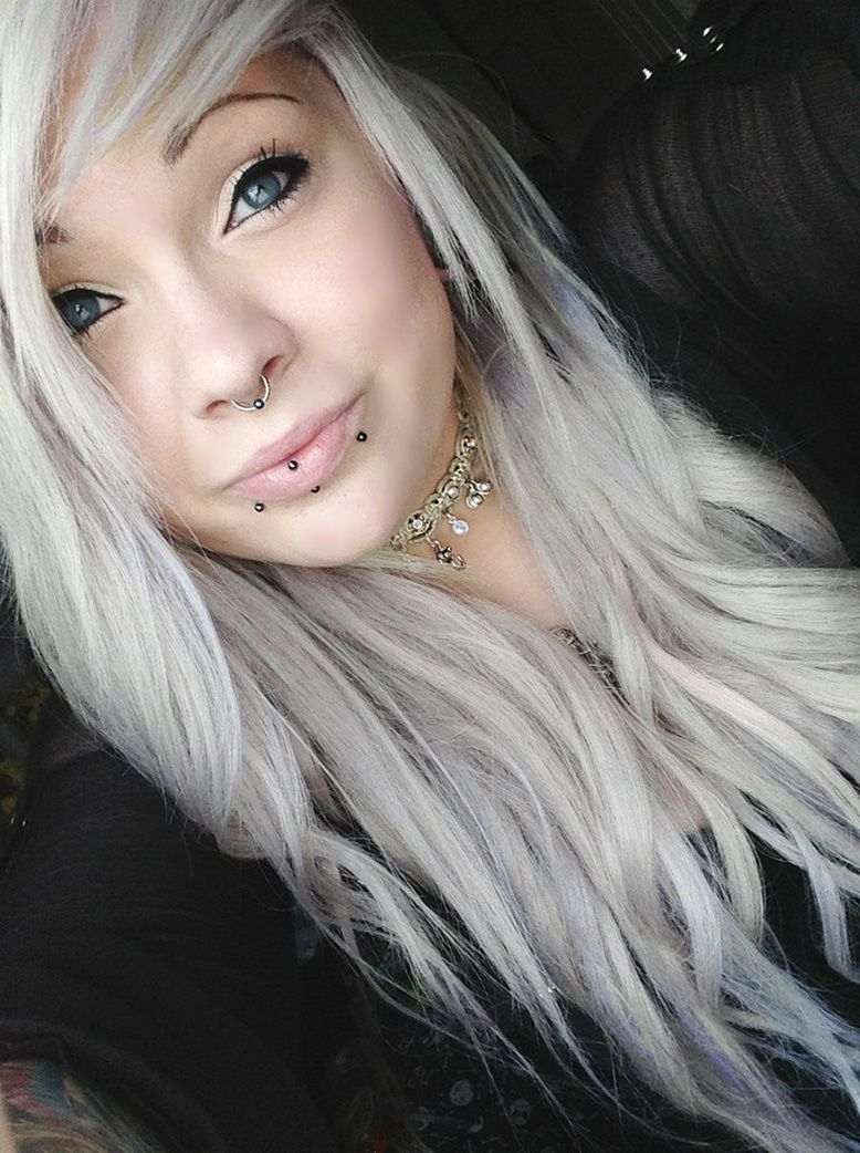 White Hair | Top Haircutsyles 2016