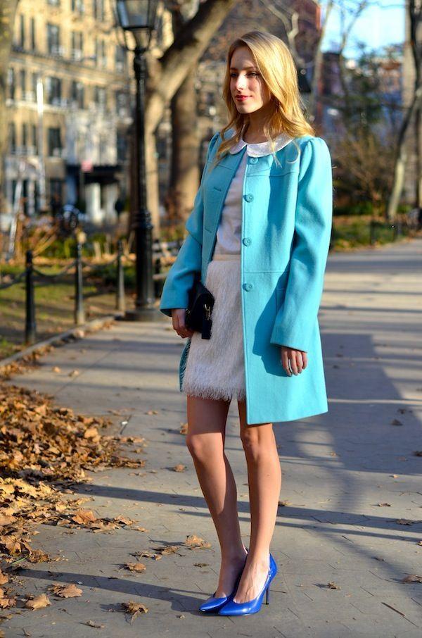 white & blue holiday glam