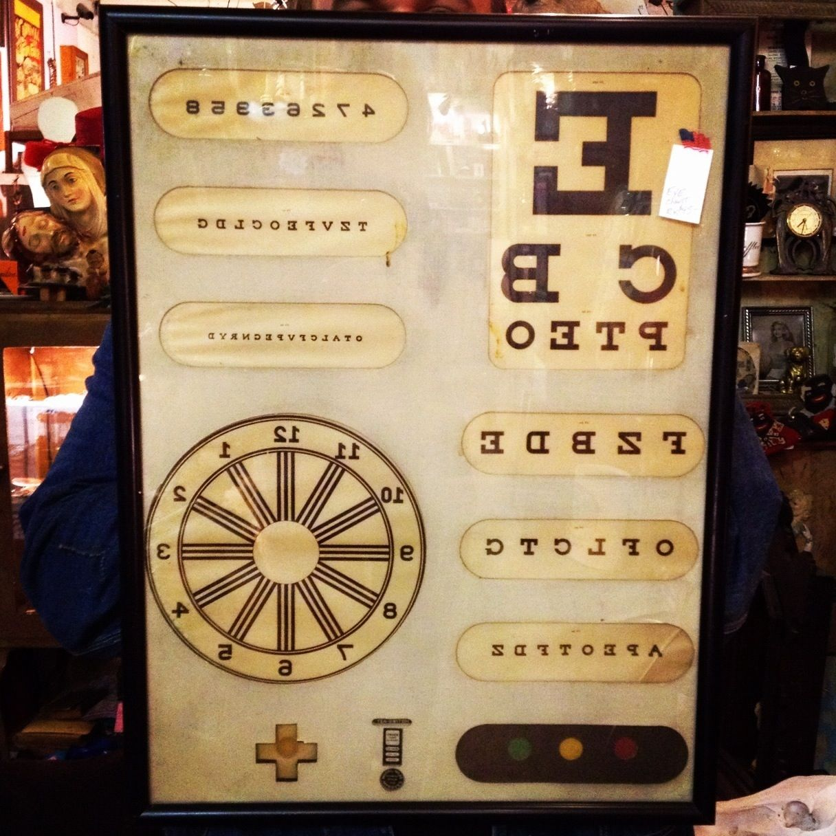 vintage eye chart - Google Search | Wall Art | Pinterest | Chart ...