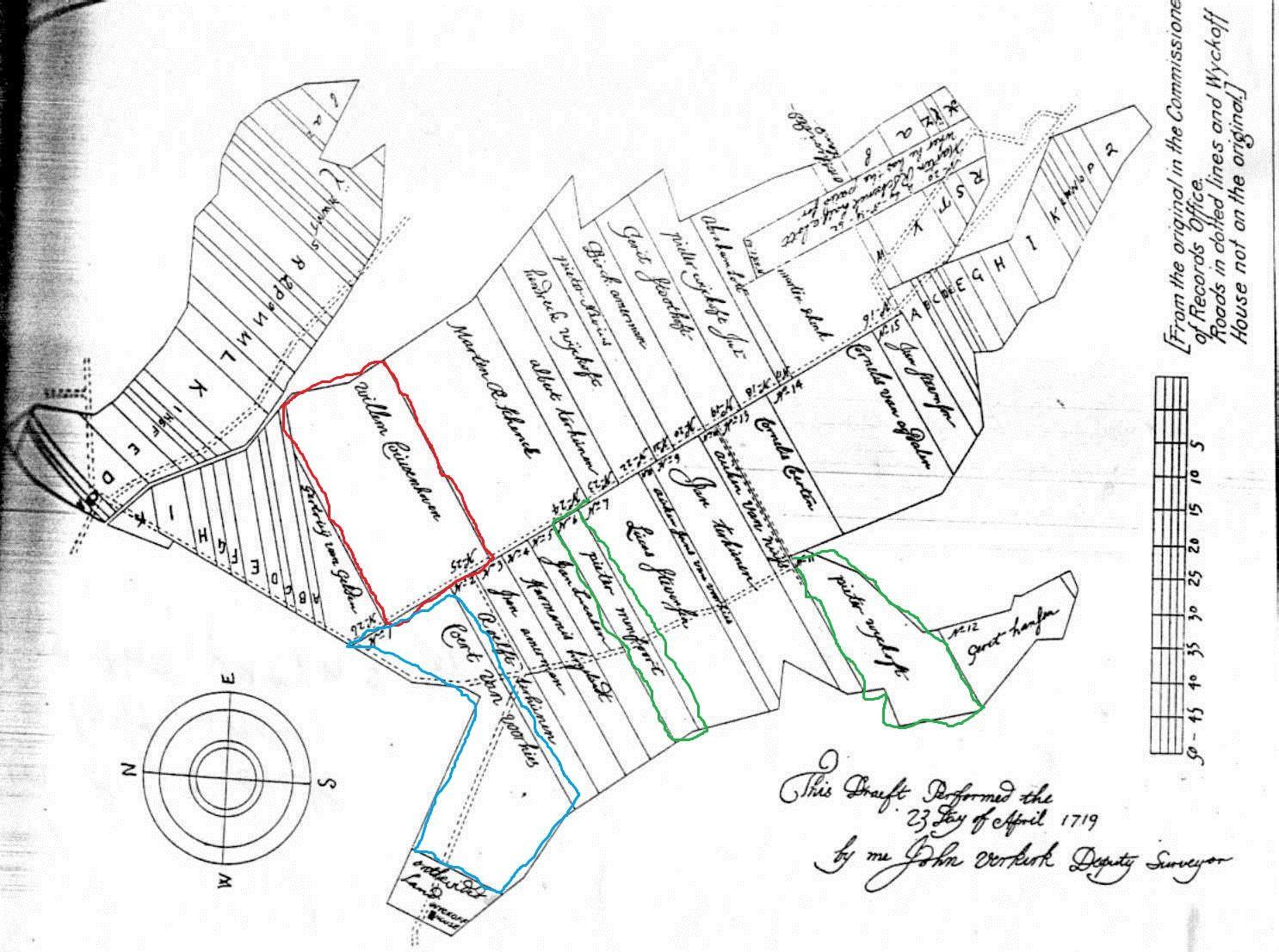 Ownership Plot Map From Flatlands Brooklyn Ny
