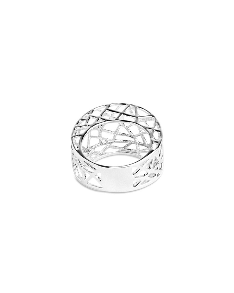 Bird Cage Ring // awesome 3D form #productdesign #jewelrydesign