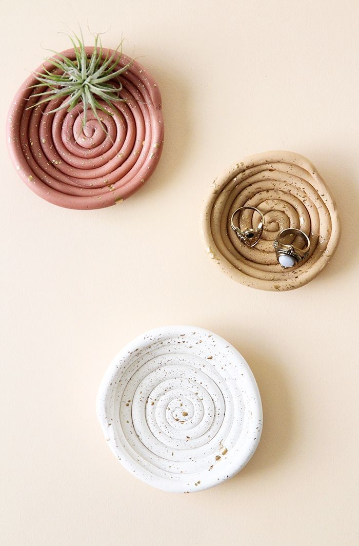 Photo of DIY Clay Ring Dish | BlissMakes