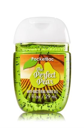 The Perfect Pear Pocketbac Sanitizing Hand Gel Bath Body