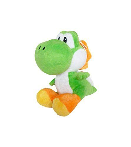 Nintendo Super Mario Yoshi Plush 6 Inch Green by Mario Bros. @ niftywarehouse.com