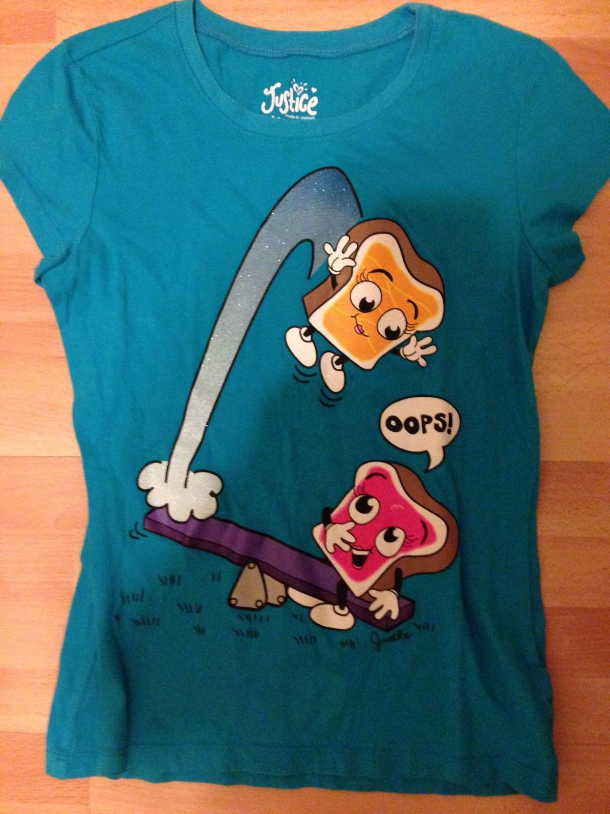 Justice PB&J see saw t shirt (With images) Justice tees
