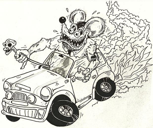Rat fink | Art | Pinterest