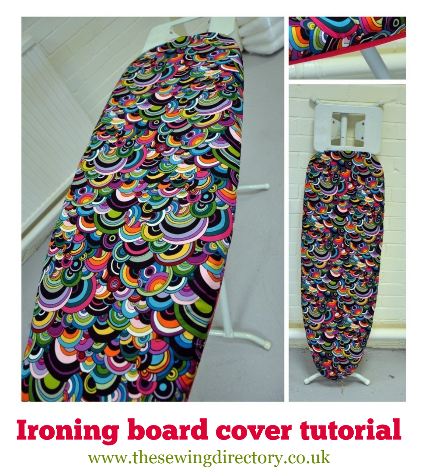 Ironing board cover tutorial | Ironing board covers, Diy ...