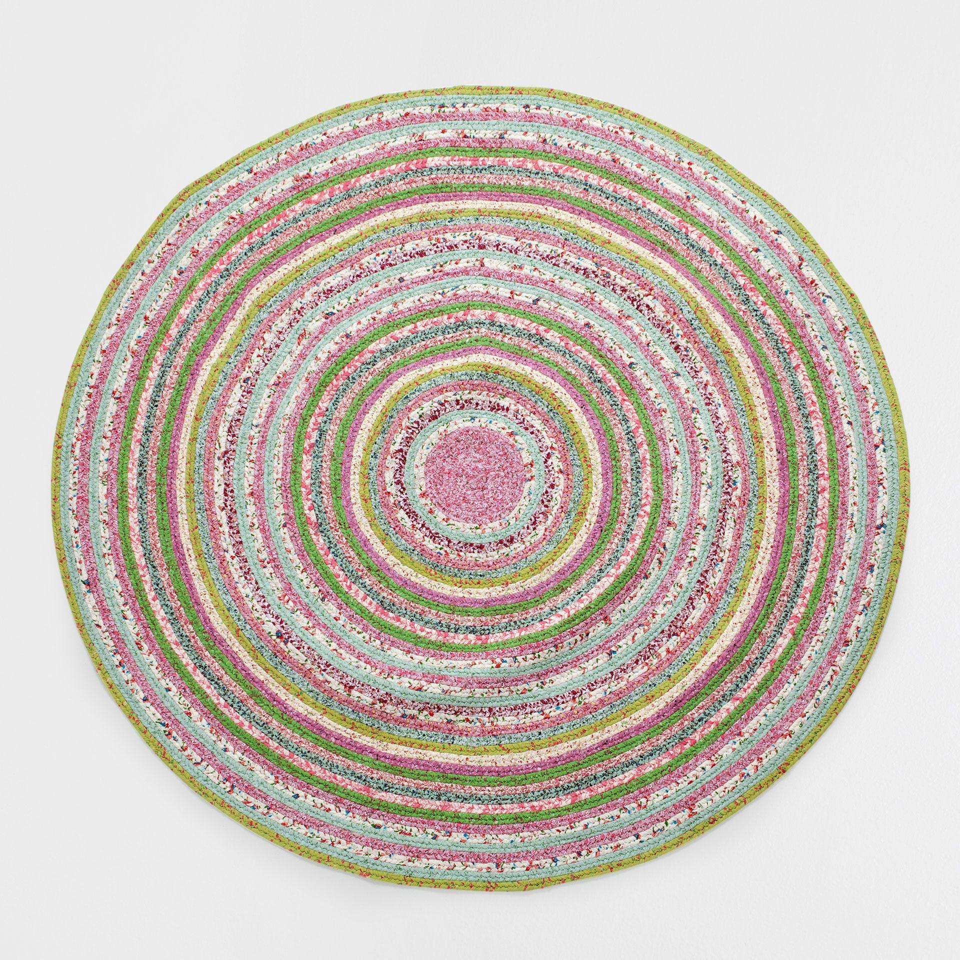 Alfombra kids redonda multicolor alfombras decoraci n zara home espa a crochet - Moqueta para ninos ...
