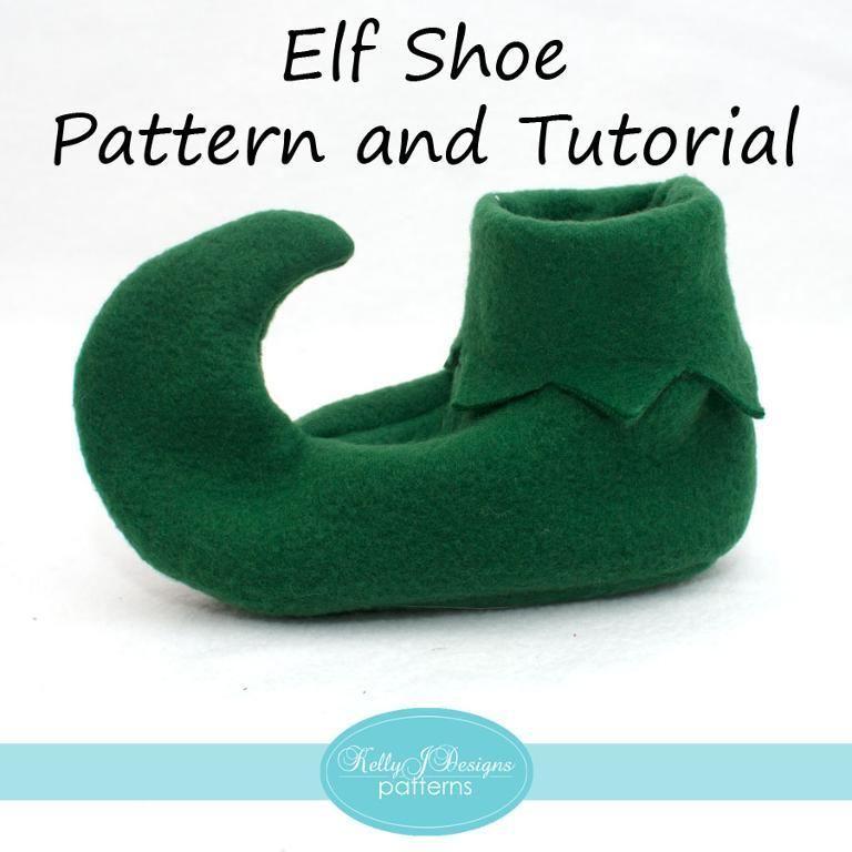 Elf Shoe Pattern and Tutorial | Fasching, Karneval und Elfen
