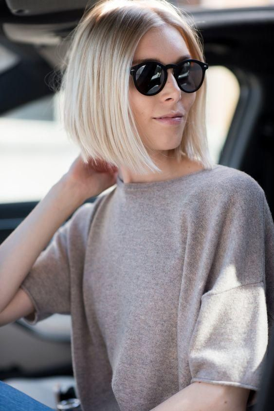 10 Hairstyles That Are Just Long Enough To Fit Into A Ponytail | Short hair ponytail, Hair ...