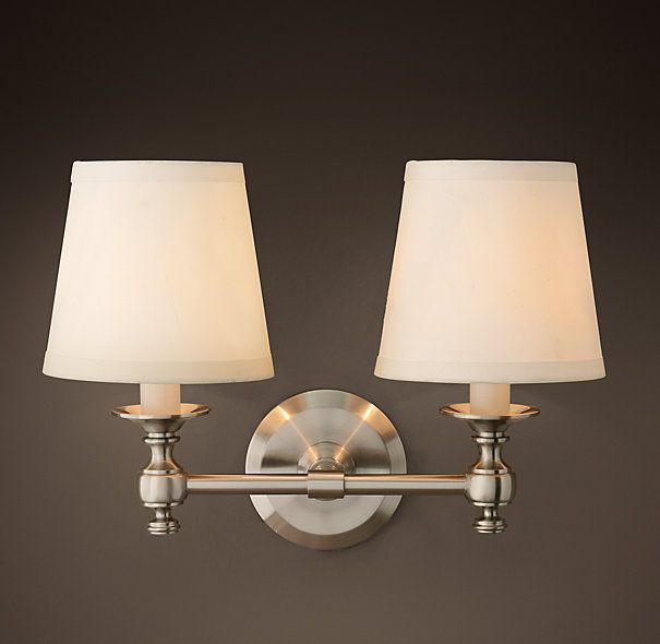 Lugarno Double Sconce. Bathroom SconcesBathroom Light ...