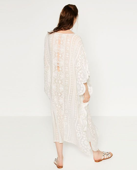 0c027c829c Image 4 of EMBROIDERED KAFTAN from Zara