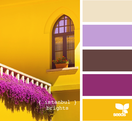 istanbul brights (Don't know how I feel about the yellow, but it could work)