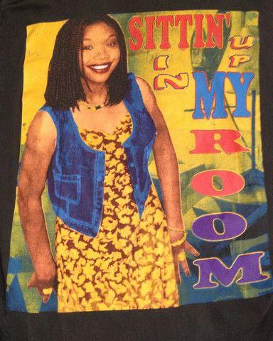 Brandy Sittin Up In My Room T Shirt Rap Tshirts Rap Tee Retro Tee