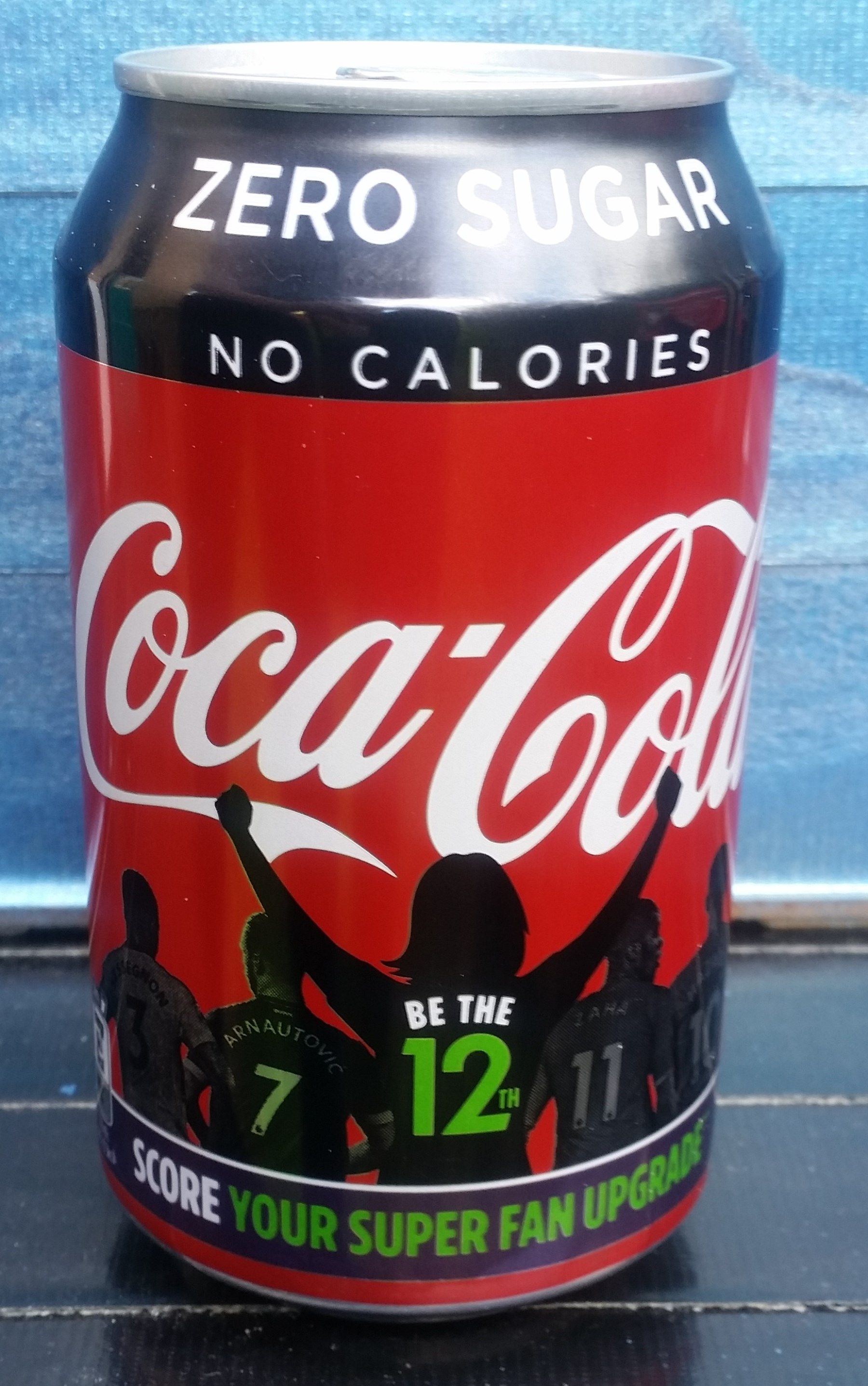 2019 Coke Zero Be The 12th 330ml Uk
