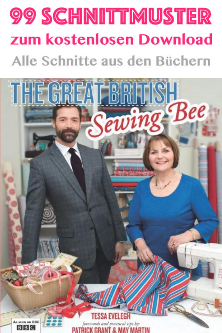 Great British Sewing Bee - Schnittmuster Download | Sewing patterns ...