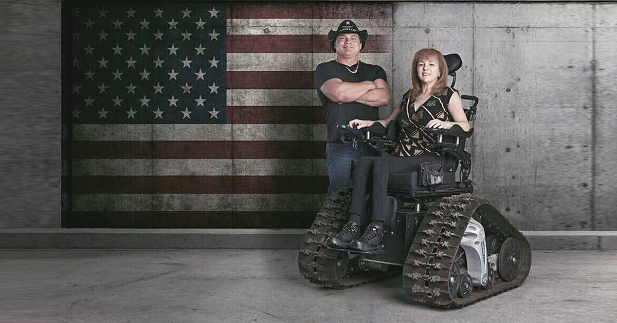 Devoted Husband Makes Special Wheel Chair For Wife So She Won T Miss Out On Family Trips Faithpot Inspiring Videos Husband Wife