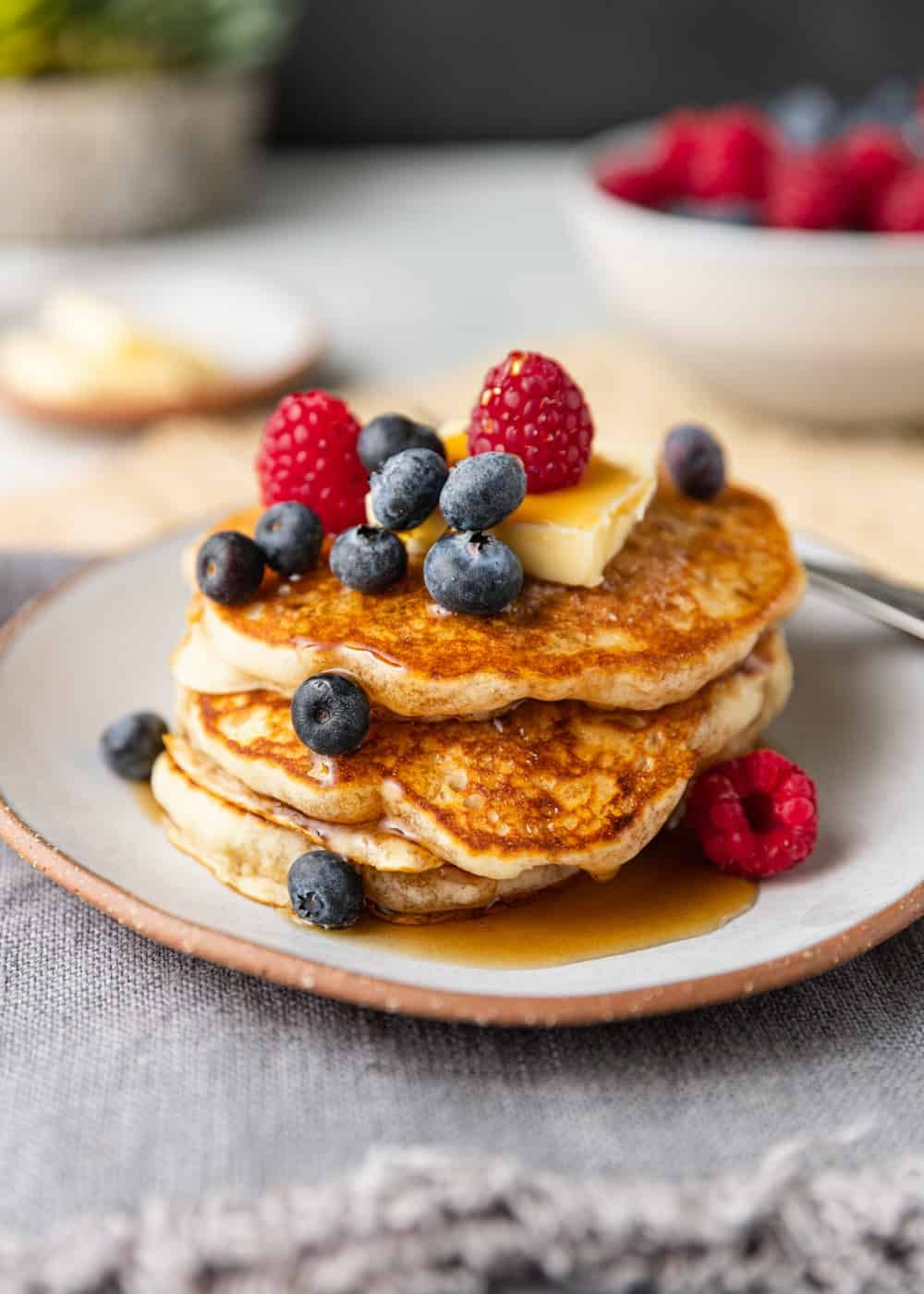 Classic fluffy pancake recipe kevin is cooking fluffy