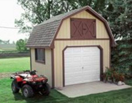 Construire Un Abri De Jardin En Bois Soi Meme #12x12ShedPlan 12x12 - construire un garage en bois m