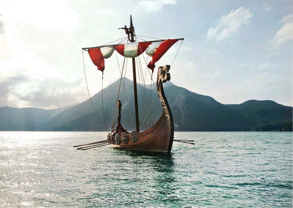 тех картинки лодка викингов предлагает