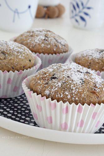 Zucchini-Haselnuss-Muffins