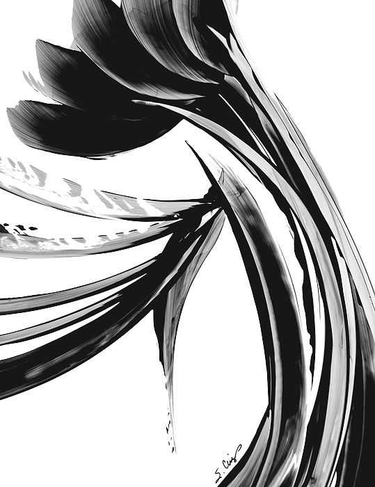 black and white modern art - Google Search | paintings | Pinterest ...