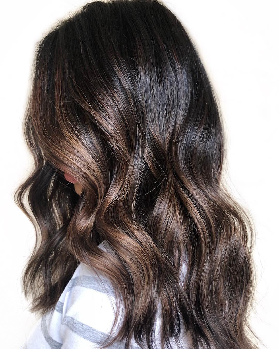 Ct Hair Artist On Instagram Chocolate Glazed Base Oligopro Calura 3 Neutral Foi Hair Highlights Brown Hair With Highlights Dark Hair With Highlights