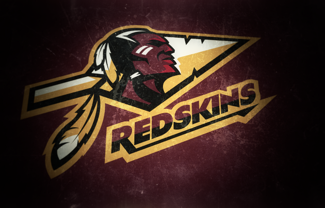 An great looking Redskins logo concept. Due to the